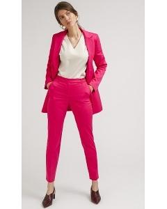 Яркие брюки розового цвета Emka D114/mondrian