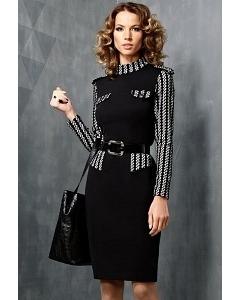 Офисное платье TopDesign B3 044