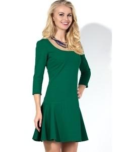 Короткое изумрудное платье Donna Saggia DSP-133-69t
