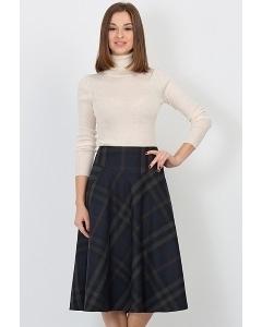 Юбка в клетку Emka Fashion 527-beretta