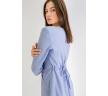 Приталенное платье в полоску Emka PL734/abeliya