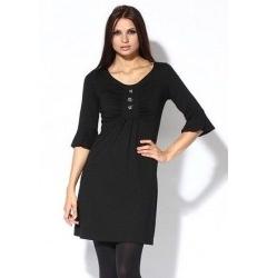 Черное платье из коллекции осень-зима 2011-2012