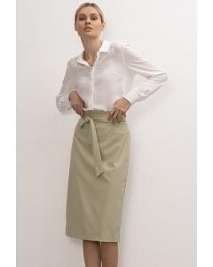 Светло-зелёная юбка-карандаш Emka S930/evans