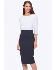 Облегающая юбка-миди с завышенной талией Emka 699/april