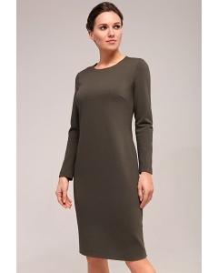 Платье простого кроя TopDesign B7 007