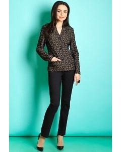 Чёрные женские брюки TopDesign B5 098