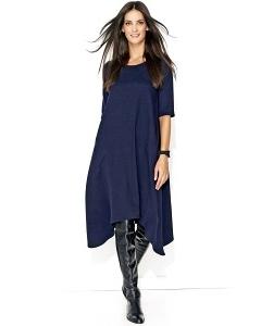 Асимметричное платье свободного кроя Numinou NU137