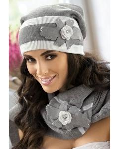 Комплект шапка + шарф Kamea Rosalia