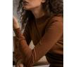 Джемпер коричневого цвета Emka B2494/soprano