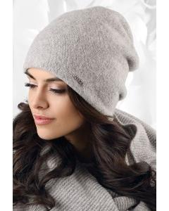 Женская шапка серого цвета Kamea Macerata