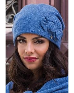 Женская шапка с драпировкой сзади Kamea Pilar