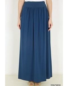 Длинная юбка синего цвета Emka Fashion 309-annet
