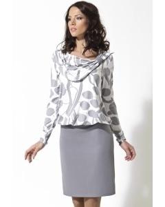 Платье с напуском TopDesign (коллекция зима 2012-2013)   B2 090