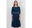 купить синее платье