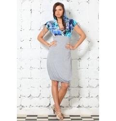 Модное платье-баллон