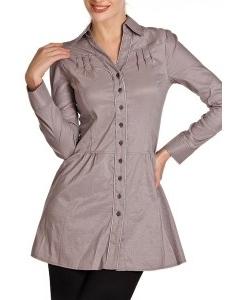 Удлиненная блузка-туника | Б788-1383