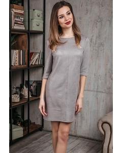 Короткое платье из замши Donna Saggia DSP-380-80t