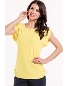 Блузка жёлтого цвета Remix 6008