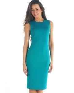 Платье из коллекции 2012 года бирюзового цвета