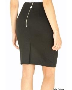 Черная юбка Emka Fashion 404-mishelle