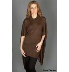 Трикотажное платье-туника Yiky Fashion
