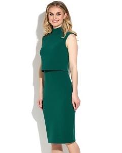 Платье с эффектом юбки и блузки Donna Saggia DSP-268-44t