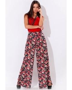 Широкие летние брюки | 5541