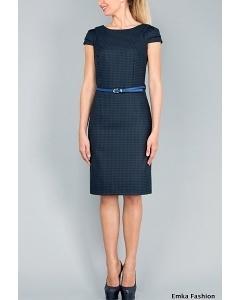 Офисное платье Emka Fashion PL-402/madonna