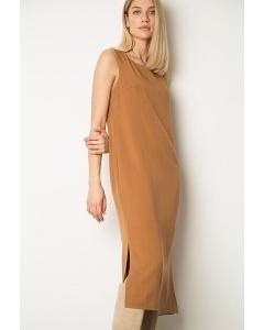 Платье без рукавов с разрезами Emka PL1136/forvard