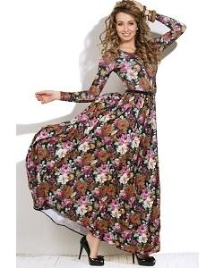 Длинное летнее платье Donna Saggia DSP-69-33t