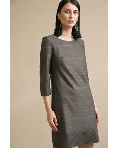 Платье в клетку Emka PL914/weyda