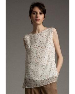 Легкая блуза свободного кроя Emka B2530/smet