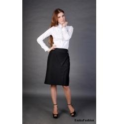 Черная оригинальная юбка | 138-katrin
