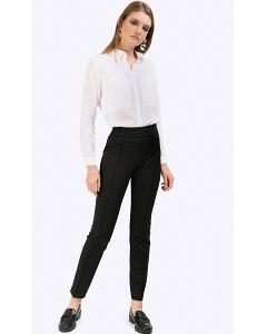 Чёрные брюки-скинни Emka D060/neurtal