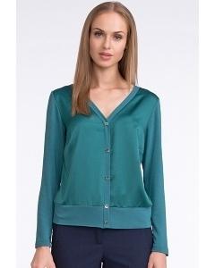 Бирюзовая блузка Sunwear U02