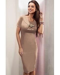 Платье Enny цвета капучино | 15029