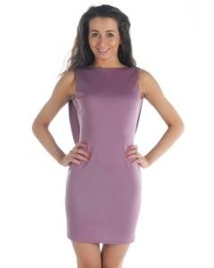 Платье сиреневого цвета Donna Saggia