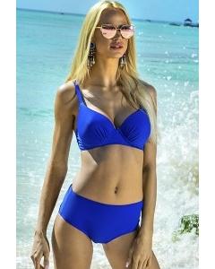 Синий купальник с высокими трусиками Primo 527/3