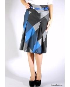 Клетчатая юбка Emka Fashion | 339-mayla