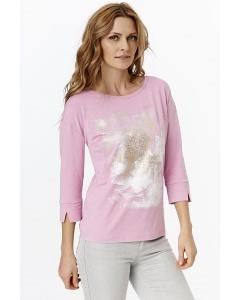 Розовая блузка с длинным рукавом Sunwear Y25-4-11