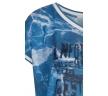 Голубая блузка из тонкого трикотажа Zaps Wida