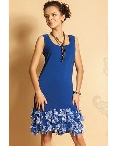 Синее платье TopDesign Premium PA5 63