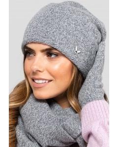 Молодежная двойная шапка Kamea Anna