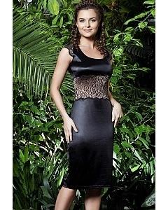Стильное черное платье TopDesign Premium | PA3 13