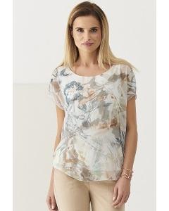 Лёгкая летняя блузка с коротким рукавом Sunwear Q13-2-68