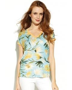 Блузка с V-вырезом Zaps Shiori