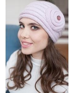 Розовая женская шапочка Landre Франческа