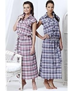 Платье в клетку TopDesign | A3 016