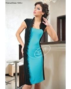 Асимметричное платье V&V