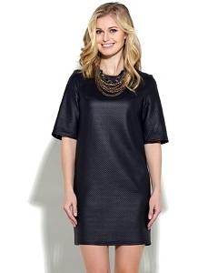 Платье под кожу Donna Saggia DSP-32-41t